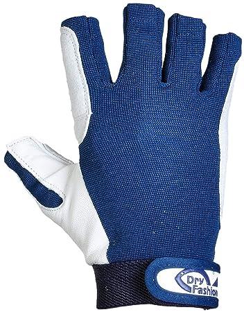 Bootsport Bekleidung Dry Fashion Leder Segelhandschuhe 5 Finger frei Wassersport Regatta Gloves