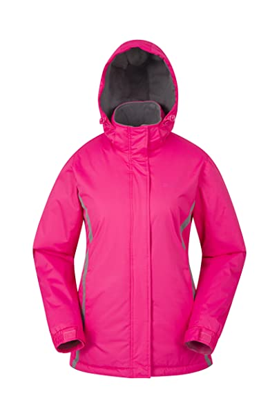 d23088639f Mountain Warehouse Moon Womens Winter Ski Jacket - Warm Snow Jacket Pink 4