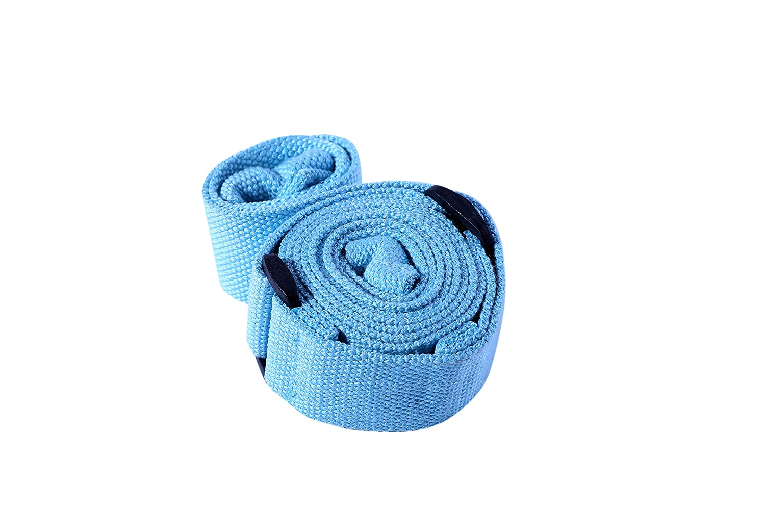 Odor/&Tear Resistant WEHE Adjustable Carrying Exercise Strap Sling for Yoga Mat Shoulder Friendly Bag and Fitness Stretching Design Extra Long 86 Durable Cotton Pilates Straps