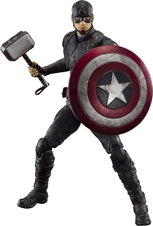 Amazon Opens Pre-Orders For Avengers: Endgame S.H.Figuarts Captain America (Final Battle Edition)