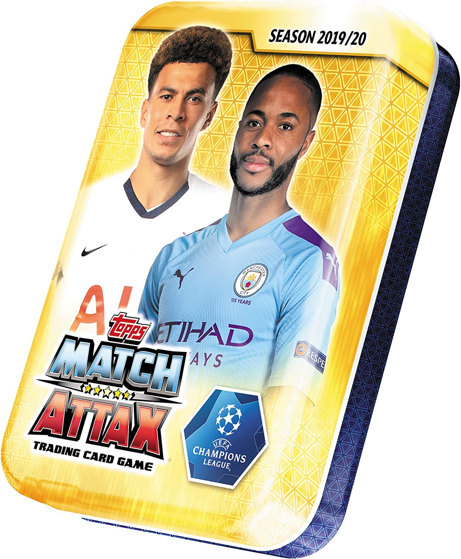 Topps Match Attax Ligue des Champions 2019//2020 20 booster 19//20