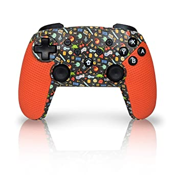 How To Set Fortnite Pc To Use Switch Controller Amazon Com Wireless Pro Controller For Nintendo Switch And Ps3 Snes Classic Edition Fortnite Zelda Breath Of Wild Kirby Star Allies Pokemon Xenoblade Chronicles 2 Metroid Prime 4 Super Smash Flash 2 8bitdo Video Games