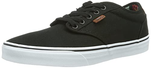 7265b757becefb Image Unavailable. Image not available for. Colour  Vans Atwood Deluxe  (10oz Canvas) Black Guatemala Men s ...