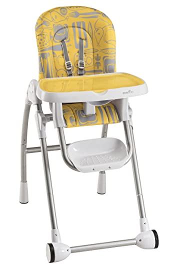 Evenflo Modern 200 High Chair, Tangerine (Discontinued By Manufacturer)