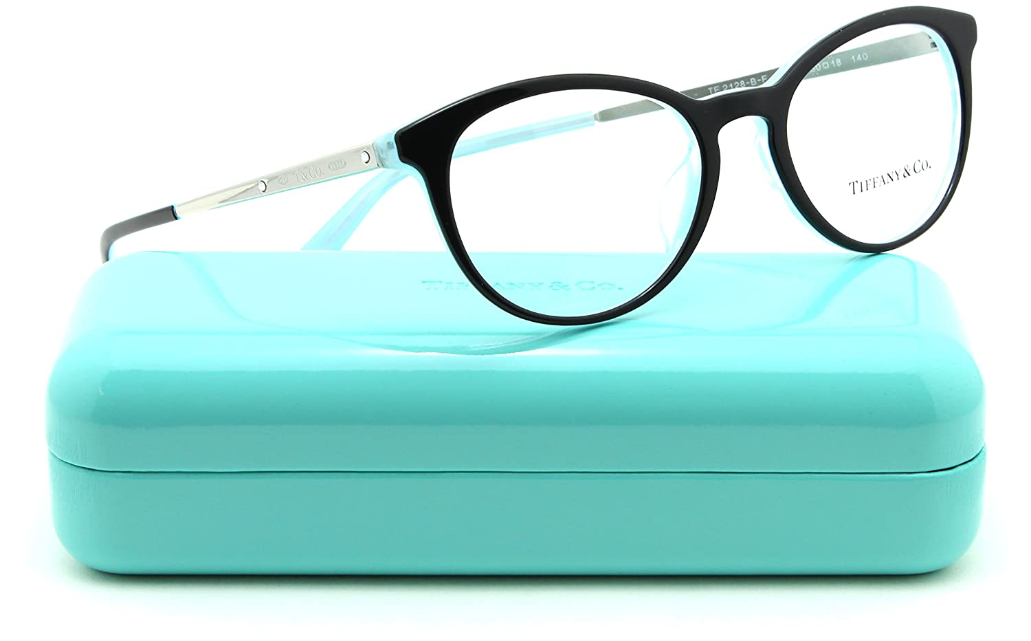 b91e5ec2a357 Tiffany   Co. TF 2128-BF Women Eyeglasses RX - able Asian Fit (8193) 50mm   Amazon.ca  Clothing   Accessories