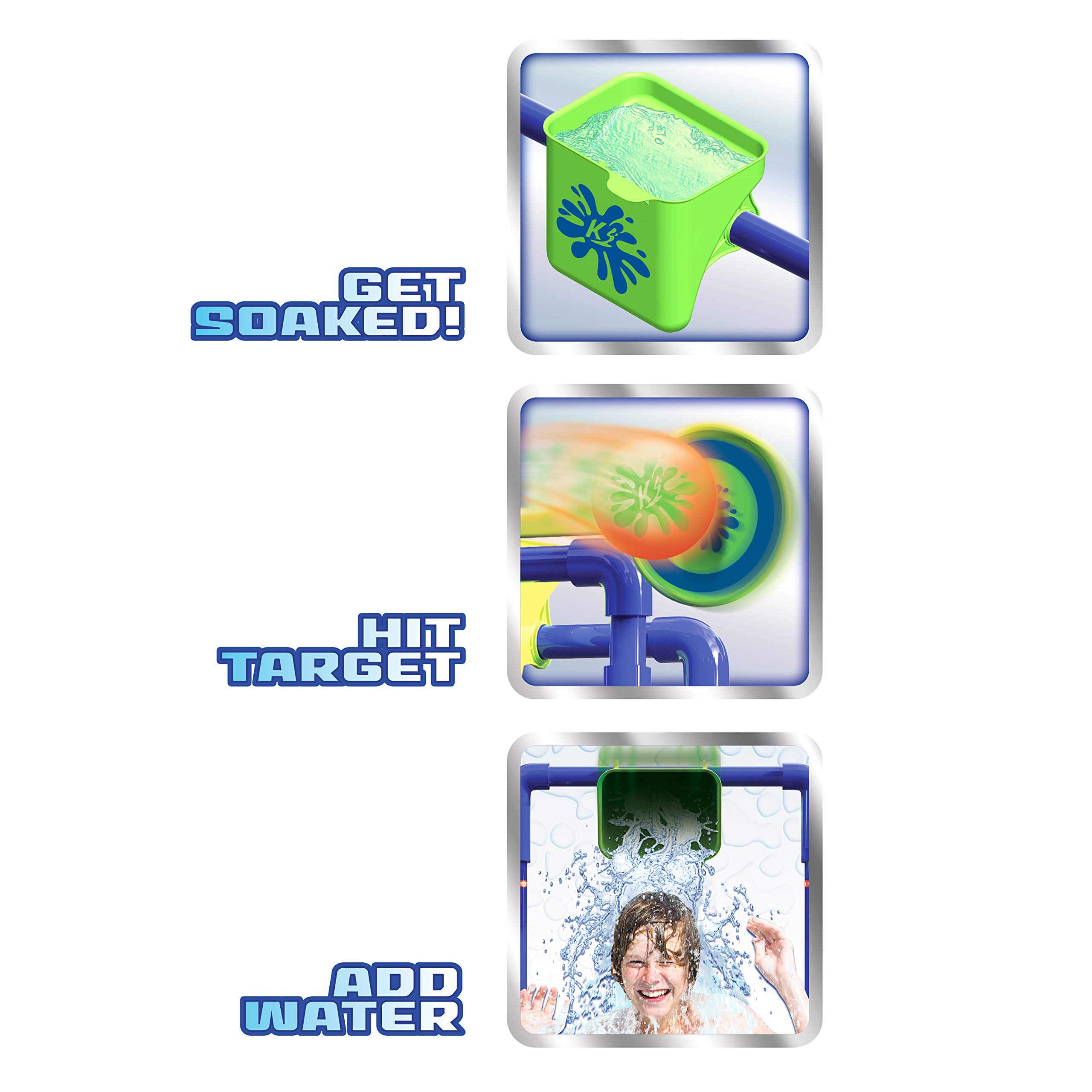 Kaos Water Play KAOS Splash Tank (Alternative Dunk Tank), Multicolor by Kaos Water Play (Image #4)
