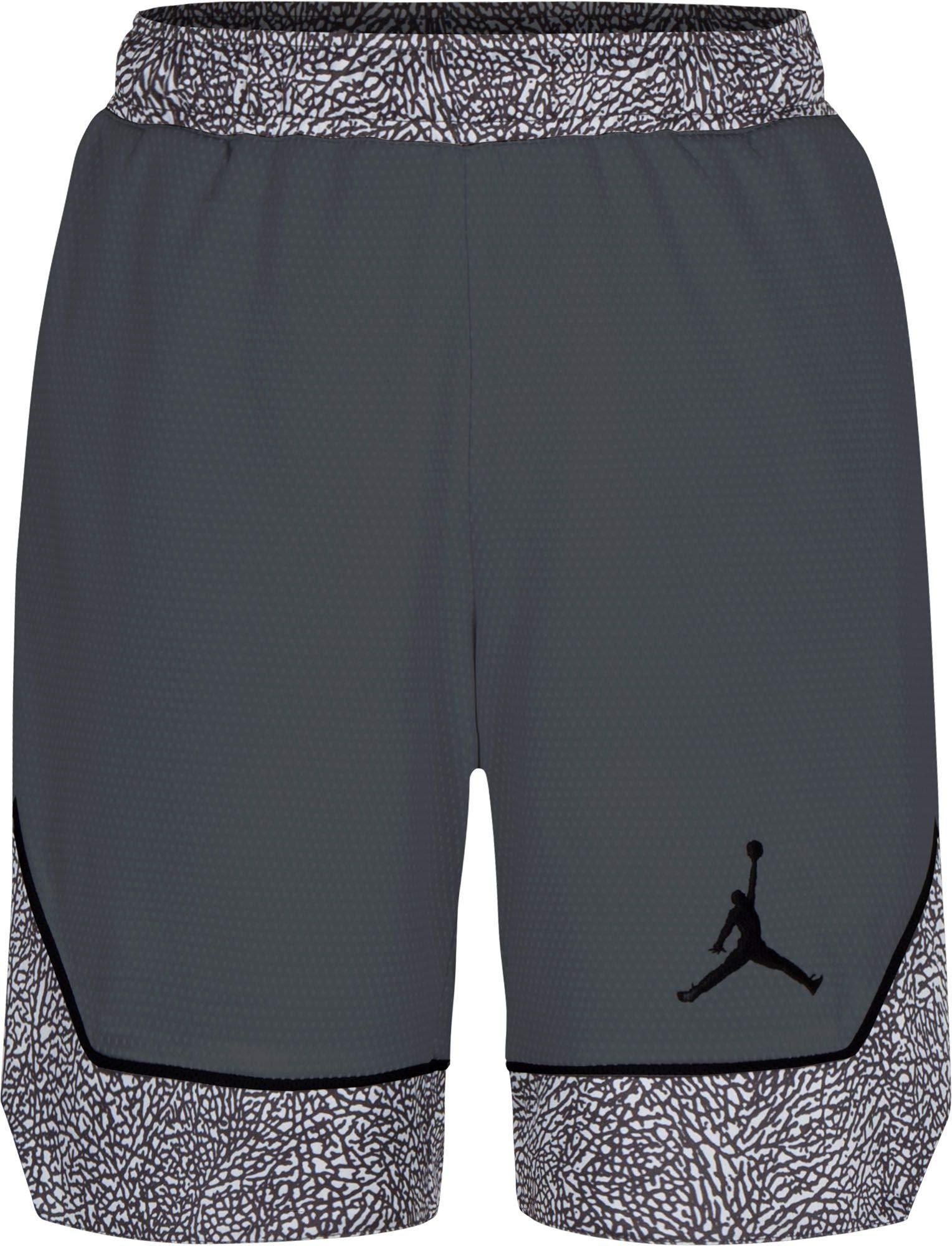 Jordan Boy's Air Pro Peak Shorts (XL, Dark Grey)