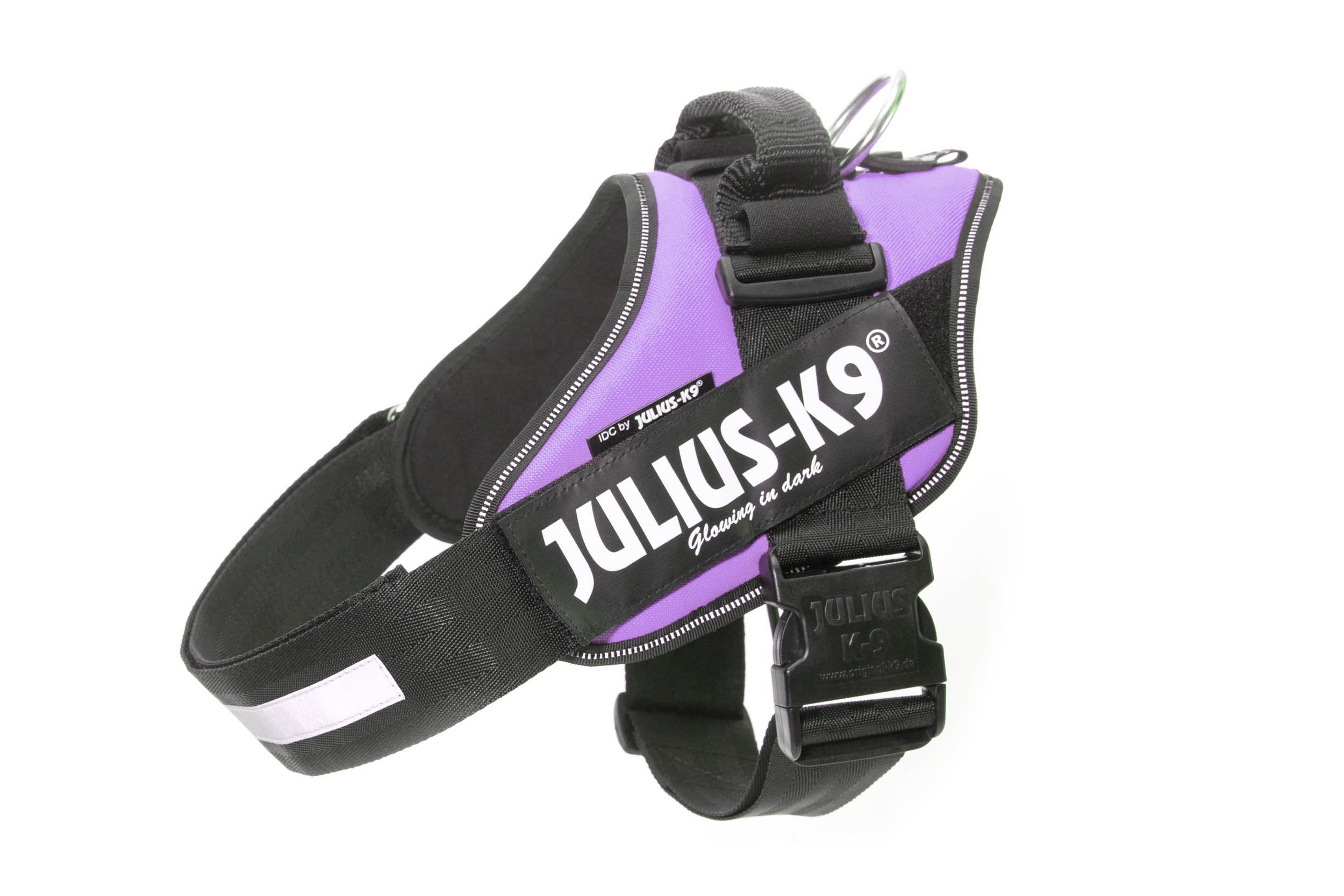 Julius-K9 IDC-Power Harness, Purple, Size: 1/63-85 cm/26-33.5''