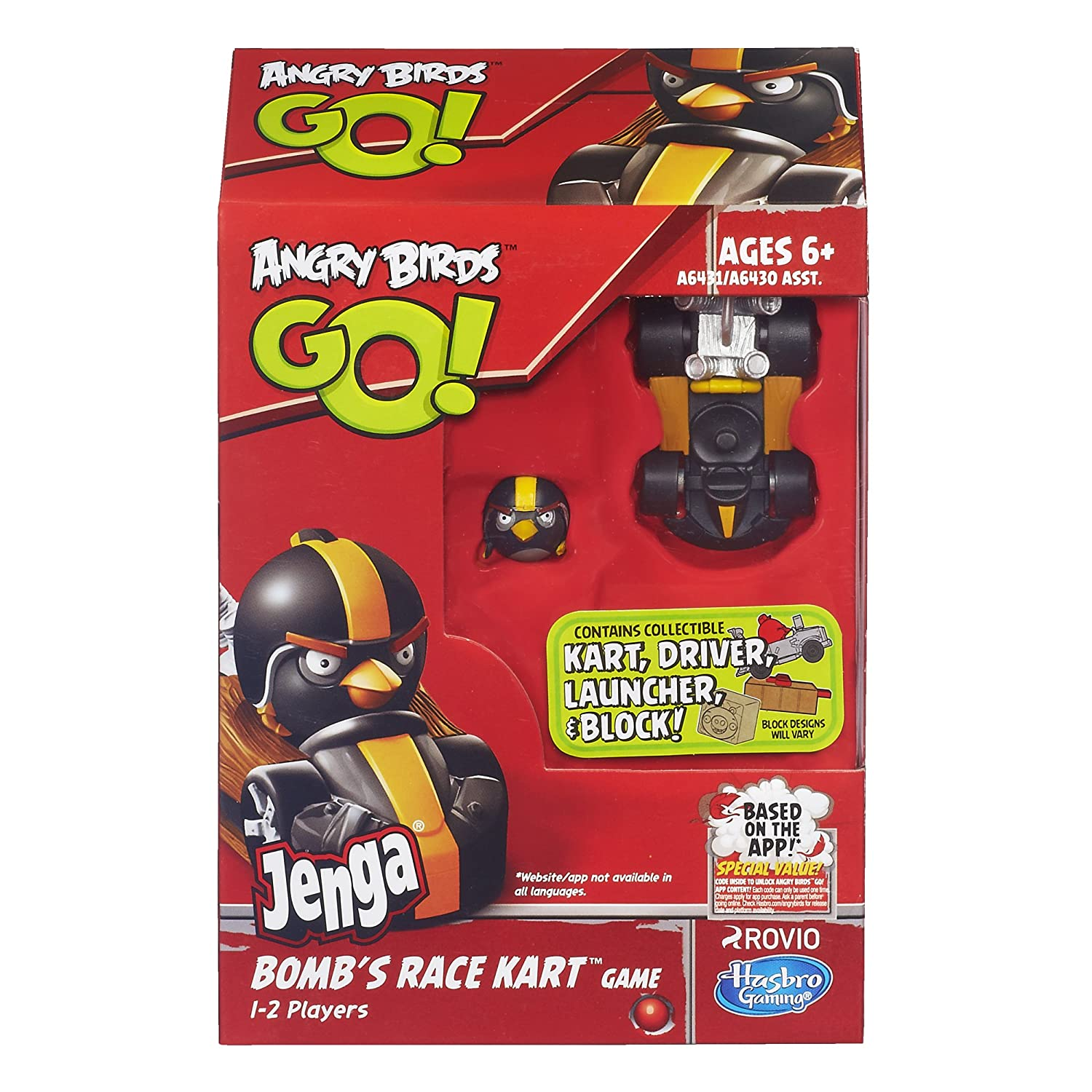 Buy Angry Birds Go Jenga Bombs Race Kart Game Online At Low Prices In India