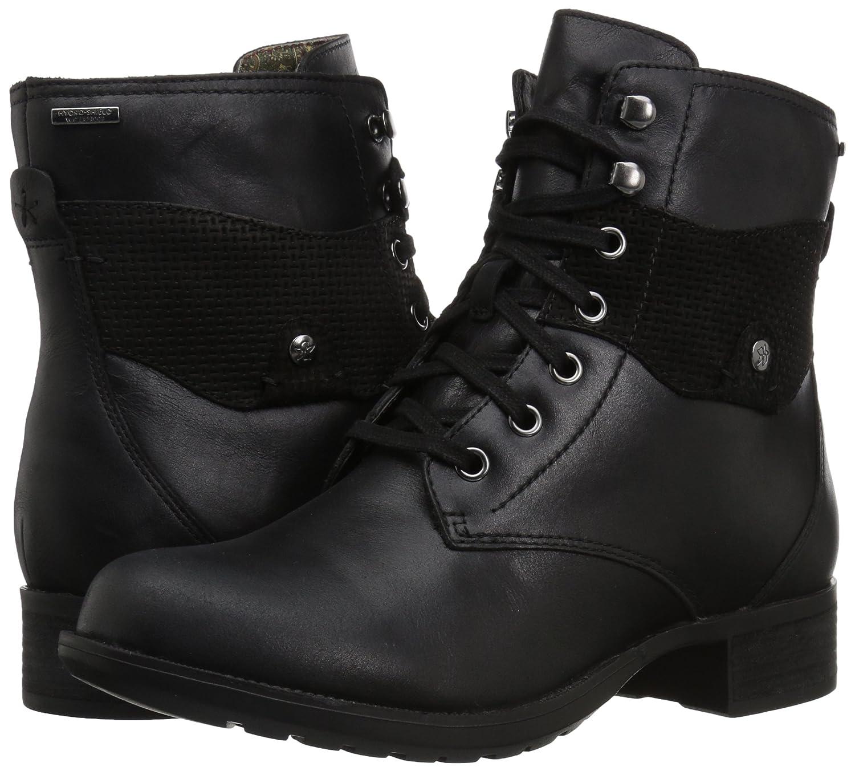 Rockport Women's Copley Lace up Winter Boot B01NBYZN3T 7.5 B(M) US|Black Leather