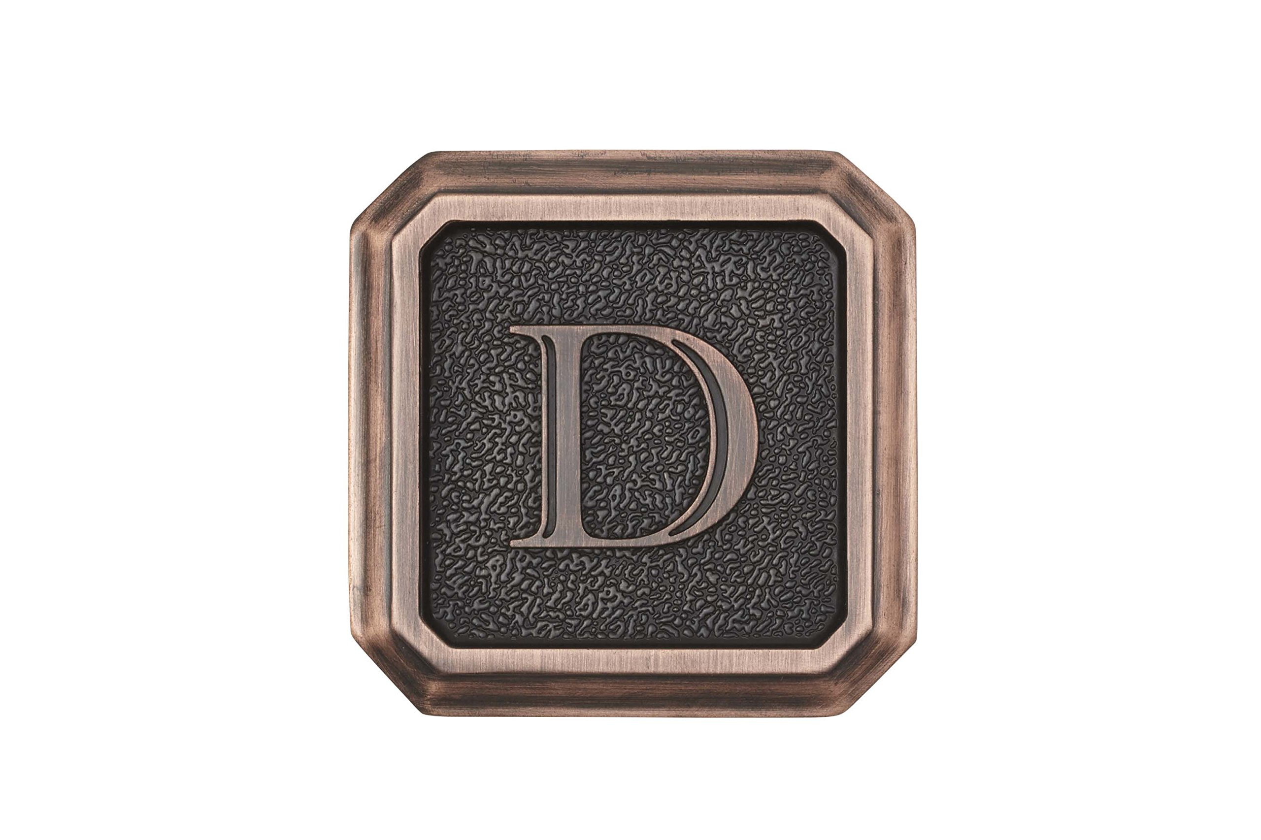 Architectural Mailboxes 3650ORB-D Aluminum Oil Rubbed Bronze Monogram - Letter''D'' by ARCHITECTURAL MAILBOXES (Image #1)