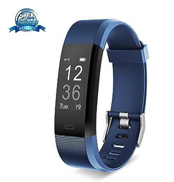 Yuanguo Pulsera Inteligente Reloj Deportivo Yuanguo YG3 Plus Actividad Tracker Monitor de Sueño Pulsera Cuenta Pasos y Calorias para Mujer Hombr Niño ...