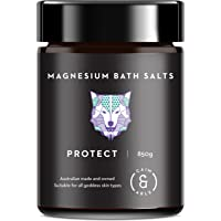 Caim & Able Scented Magnesium Flakes Bath Salts (Protect 850g) Ivory Clay, Lavender & Rosemary Essential Oils Pampering Spa Foot Soak Luxury Gift Ideas for Wife Her Epsom Salt Bath Bombs Alternative