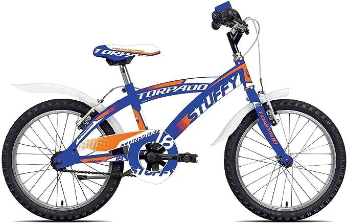 Torpado - Bicicleta Junior Stuffy para niño, 18 pulgadas, 1 marcha ...
