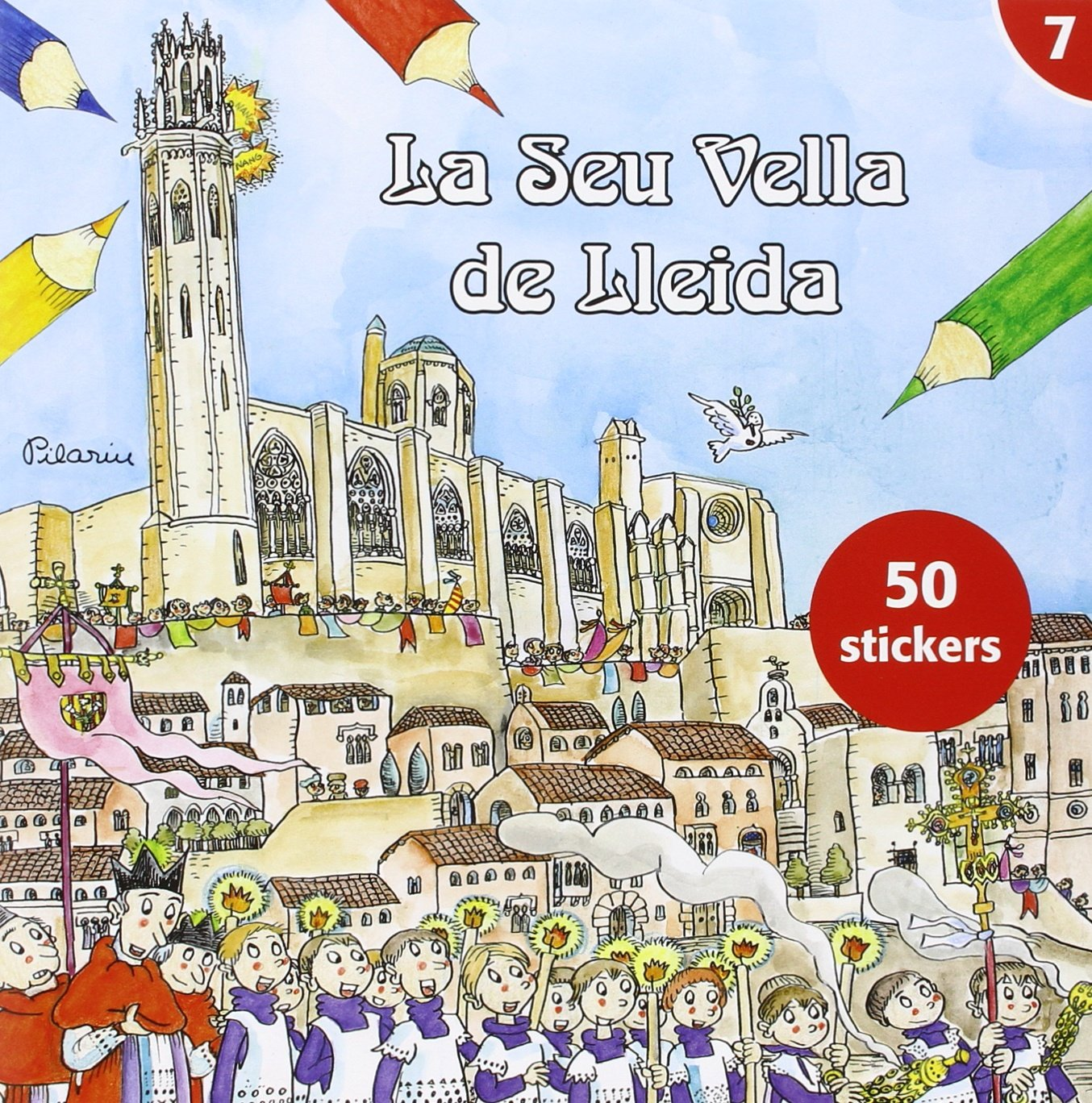 Seu Vella De Lleida Per Pintar,La: Amazon.es: Bayés de Luna ...