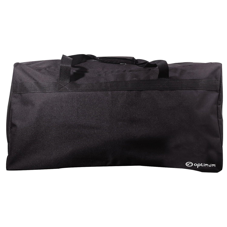Optimum OBTKBW Men Team Kit Bag, Black/White, One Size