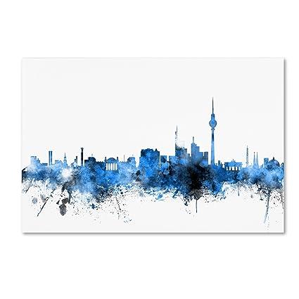 b6211849d Amazon.com  Berlin Germany Skyline by Michael Tompsett