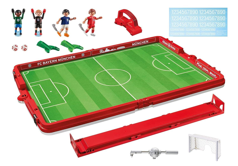Maletín Fútbol Playmobil Sport /& Action 5654 A partir de 4 años 7 piezas