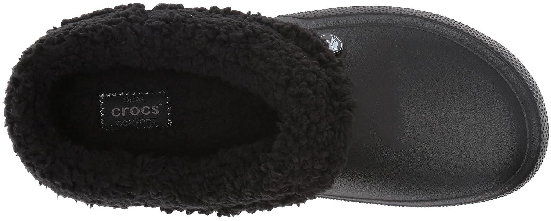 Indoor or Outdoor Warm and Fuzzy Shoe Crocs Mens and Womens Blitzen III Clog