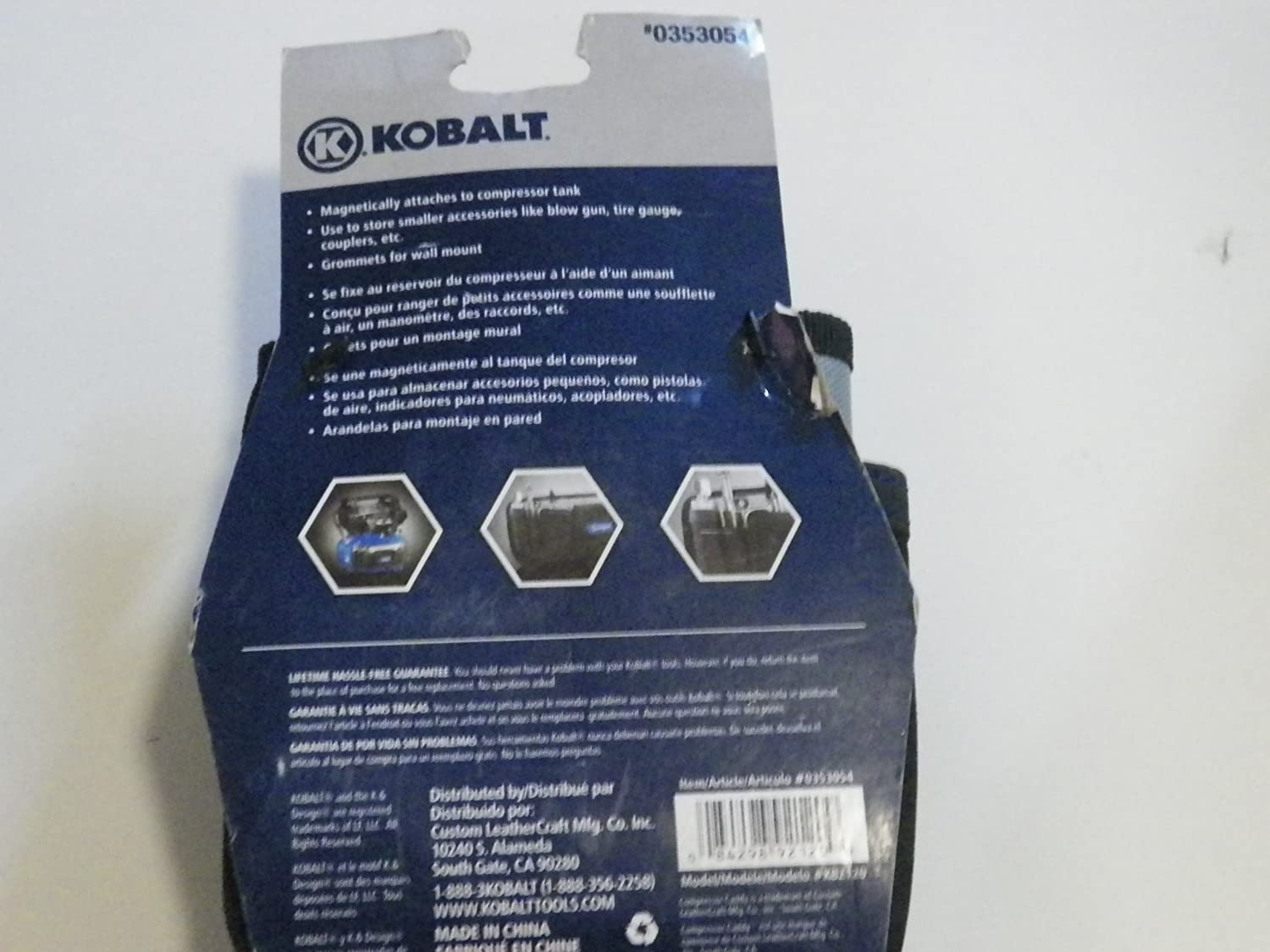 Kobalt Compressor and Tool Box Caddy Item#353054 Model# KB2120 UPC#084298921209 - - Amazon.com