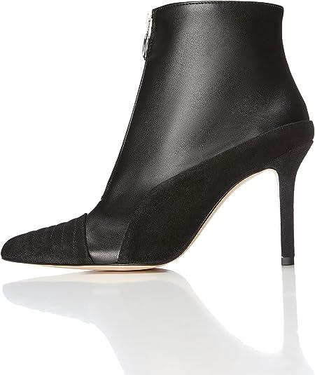Boots Zip Leather Black 6 UK