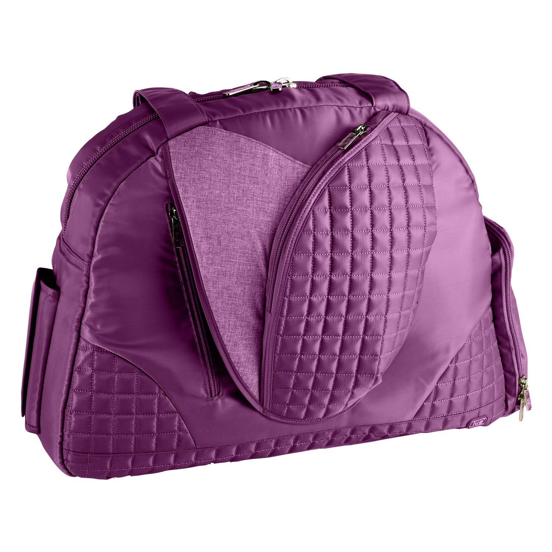 Lug Cartwheel FITNESS GYM YOGA Mat Carrier PILATES BAG in Plum Purple