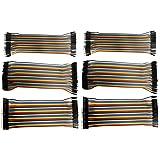 MDW 240 Pcs Multicolored Breadboard Jumper Wires Ribbon Cables Kit (Multicolored)