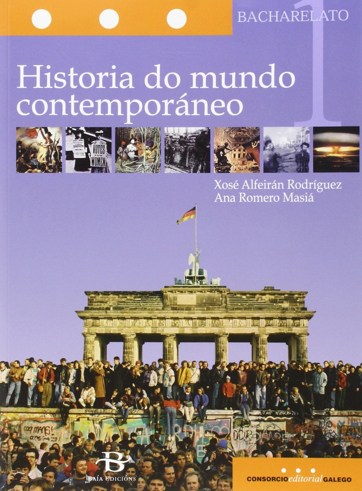 Historia do mundo contemporáneo 1º Bach. Libro de texto - 9788499950365: Amazon.es: Romero Masiá, Ana, Alfeirán Rodríguez, Xosé: Libros