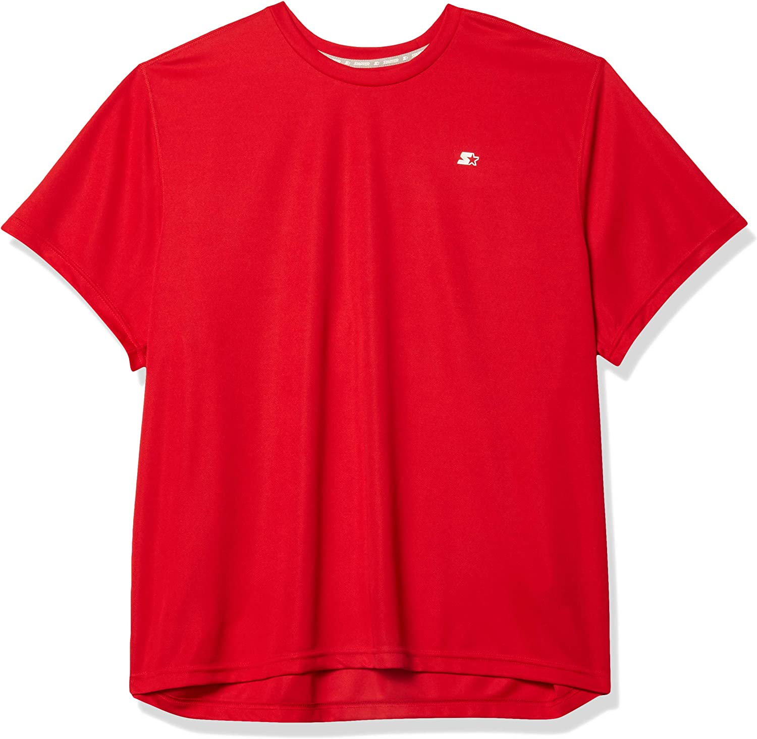 Starter Men's Athletic-Fit Short Sleeve Tech T-Shirt,  Exclusive: Clothing