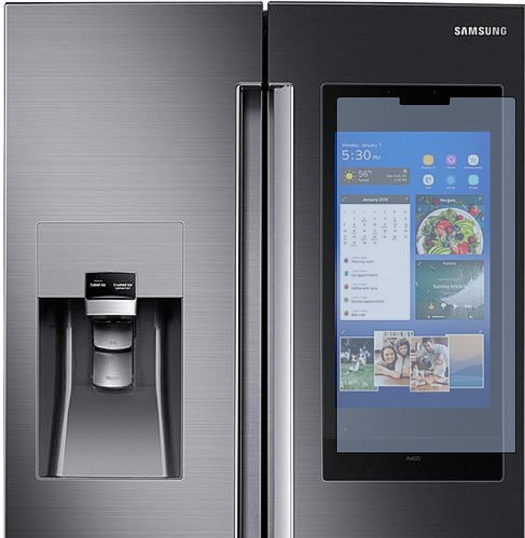 AD1000 Screen Defender/Protector for Samsung Hub 4 Door French Fridge (AKG Speaker) w/Display- Clear