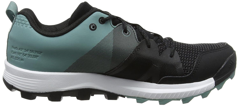 Kanadia 8 TR, Chaussures de Running Femme, Noir (Core Black/FTWR White/Vapour Steel), 42 2/3 EUadidas