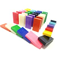 Domino Rush Toppling Dominoes Plastic (Mixed)- 30 Pieces