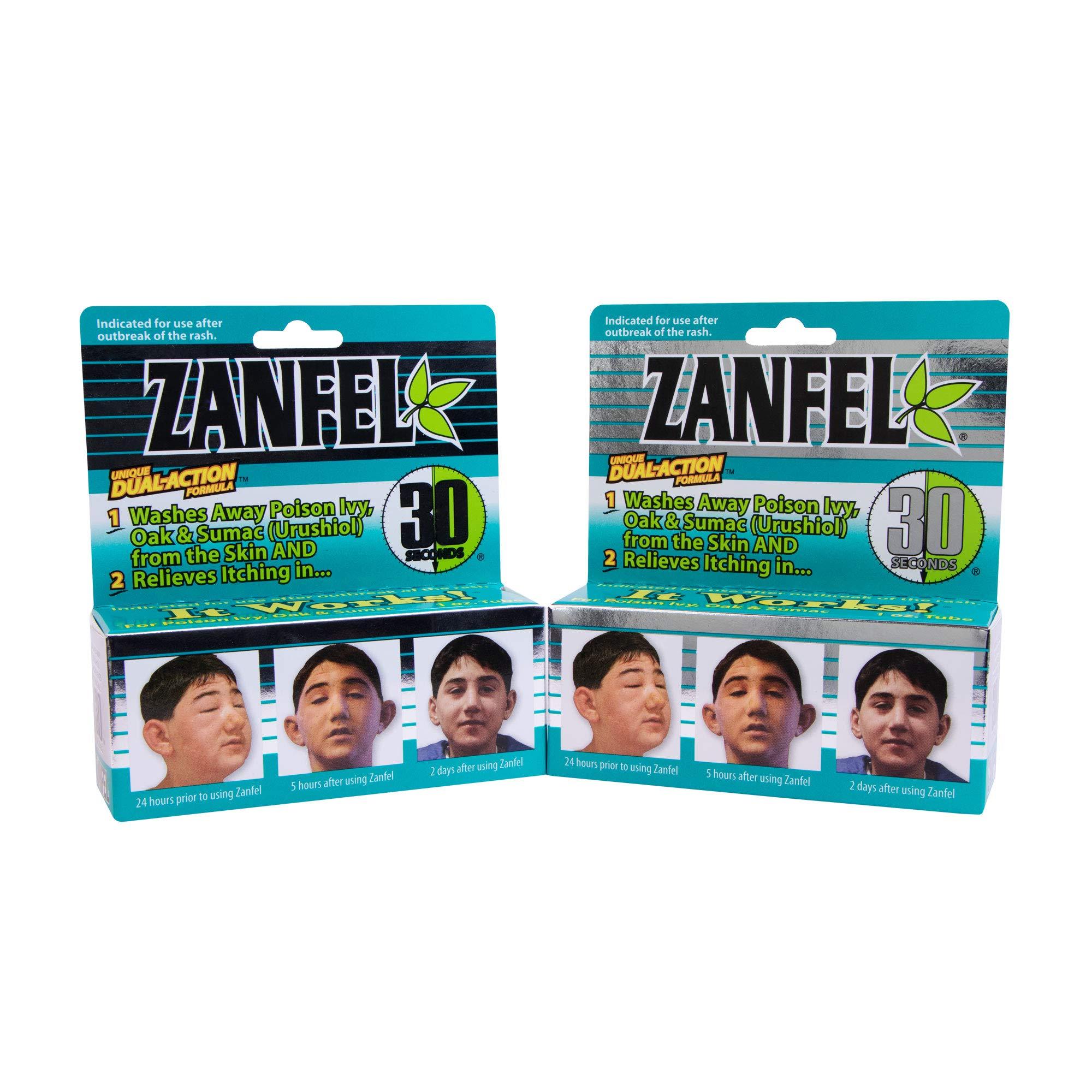 ZANFEL - Poison Ivy, Oak & Sumac Wash, 1 Oz - 2Pack by Zanfel