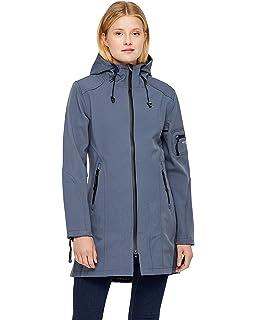 aa3a09898bac ILSE JACOBSEN Women's Rain 07 Classic Raincoat L Indigo: Amazon.co ...