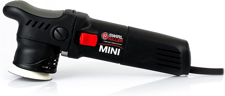 Adam's Swirl Killer 12mm Mini Polisher - Orbital Polishing Paint Correcting Buffer Tool - Pair with a Car Scratch Remover, Correcting Polish - Use Post Car Wash Clay Bar & Pre Wax or Ceramic Coating