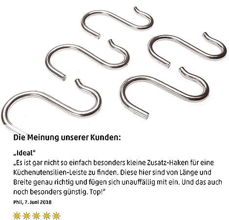 Metall Edelstahl Multifunktions Kleiderb/ügel Haken f/ür K/üche Bad Schlafzimmer,Silber,3 Gr/ö/ße Insgesamt 15 St/ück LINVINC S Haken