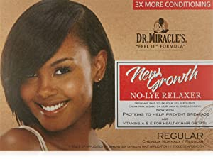 Dr. Miracle's New Growth Thermaceutical Intensive No-lye Relaxer Regular Kit