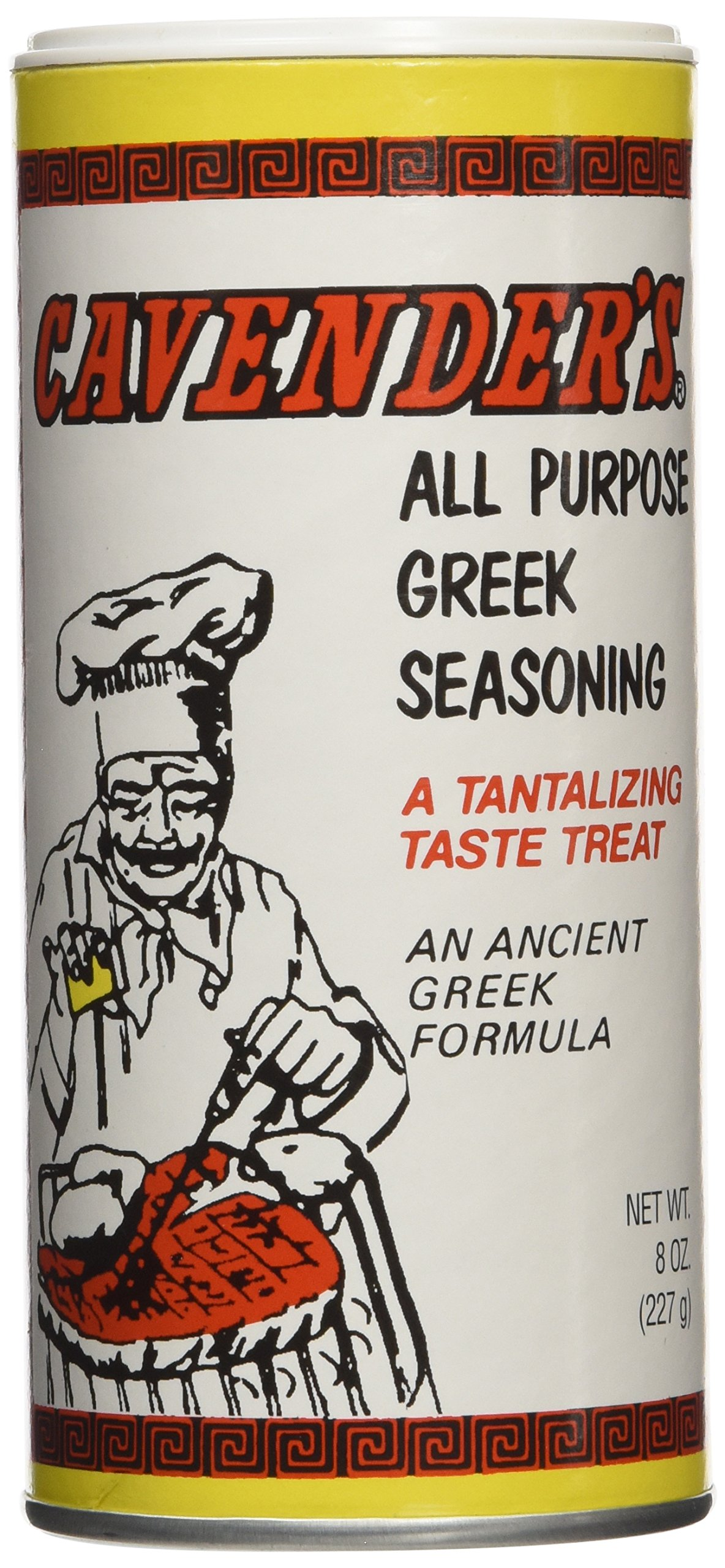 Cavenders All Purpose Greek Seasoning, 4 Pack (4 X 8oz)