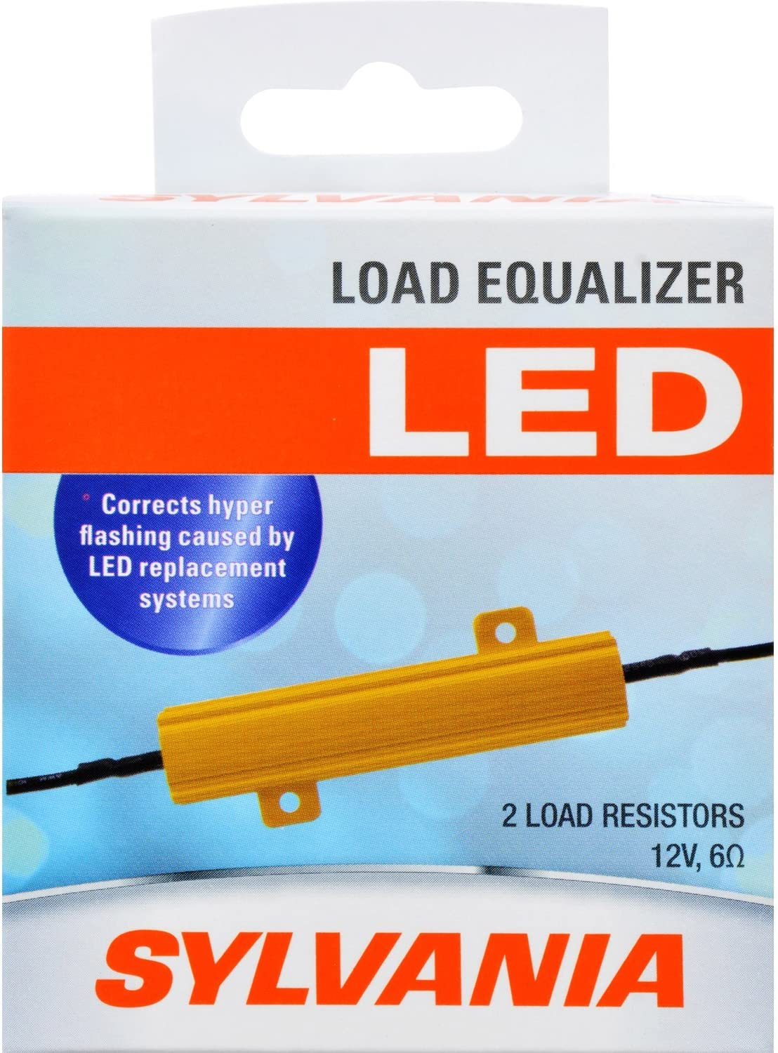- Turn Signal Load Equalizer for LED Light Bulbs Corrects Hyper Flash /& Bulb Out Warning at 12.8V Pack of 2 Load Equalizer 27 Watt SYLVANIA