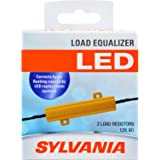 SYLVANIA - Load Equalizer 27 Watt (at 12.8V) - Turn Signal Load Equalizer for LED Light Bulbs, Corrects Hyper Flash & Bulb Out Warning (Pack of 2)