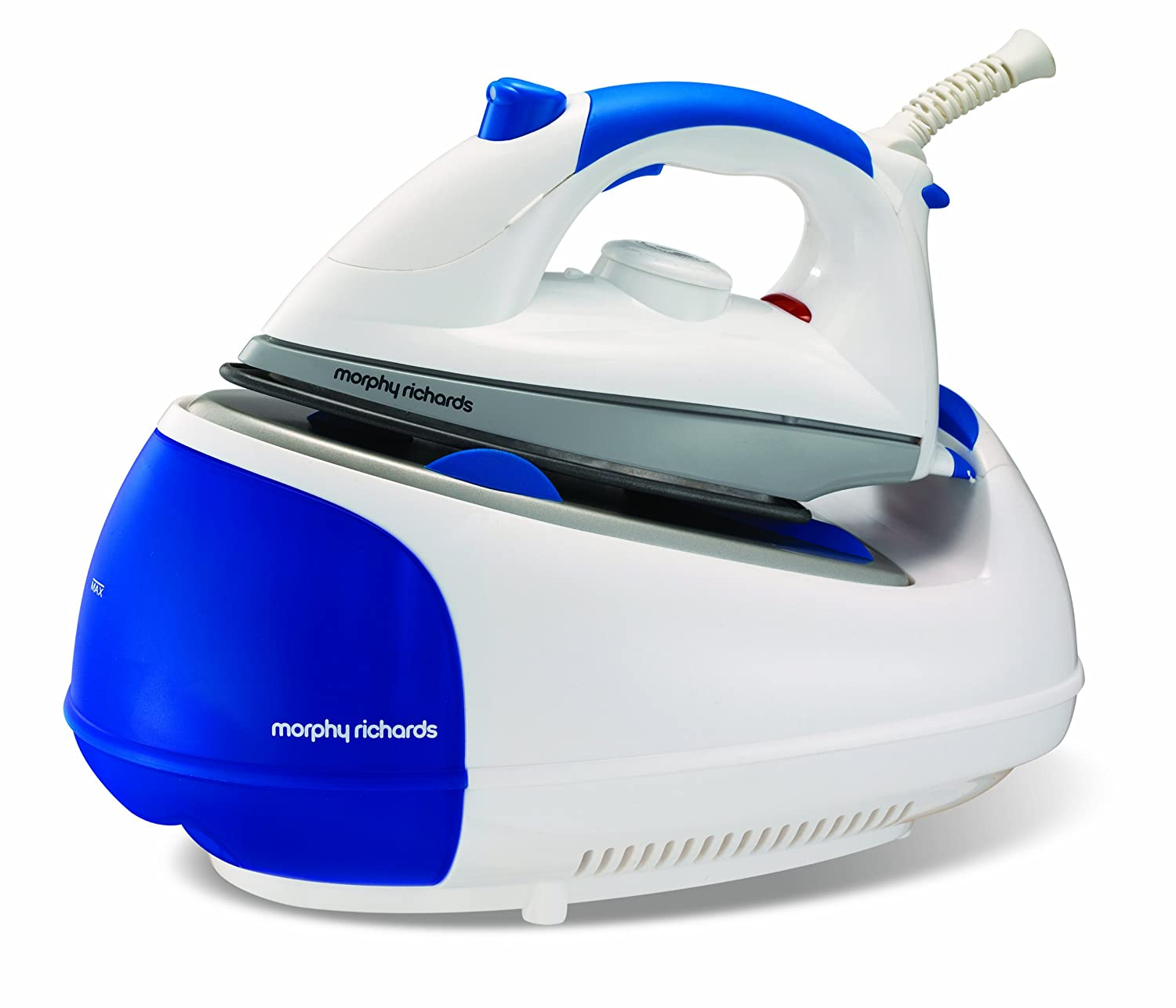 Morphy Richards Jet Steam 42234 Steam Generator Diamond Soleplate - Blue