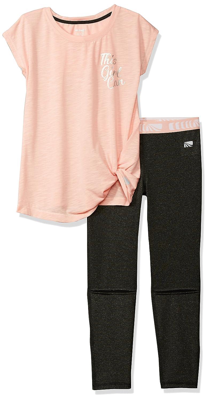 Marika Girls' 2 Piece Knit Top and Legging Set