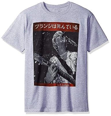Skyey Camiseta gráfica Kurt con Guitarra en el Escenario ...