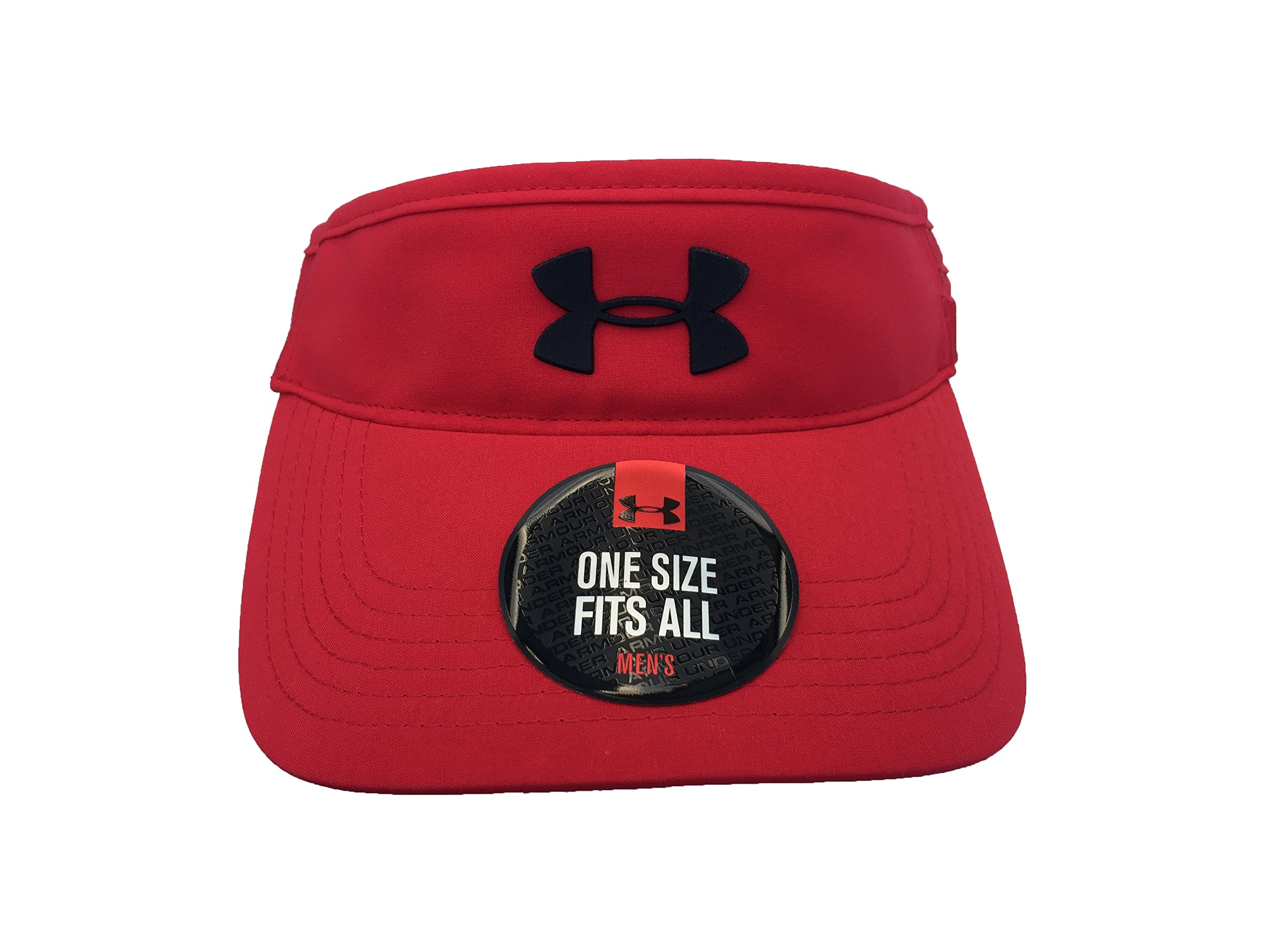 Under Armour Men`s Fly Fast Visor (University Red (1254134-600)/Black, One Size) by Under Armour