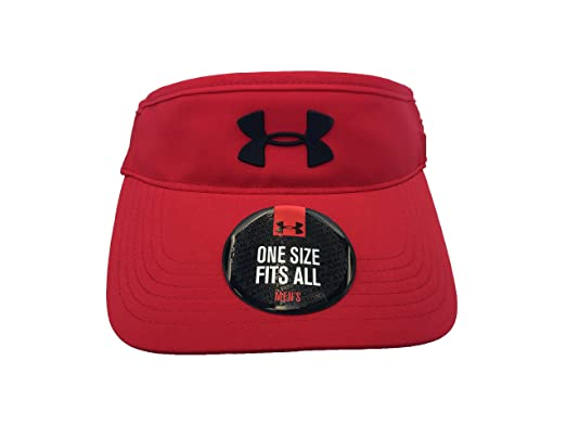 Under Armour Men`s Fly Fast Visor (University Red (1254134-600 ... 93181600a03