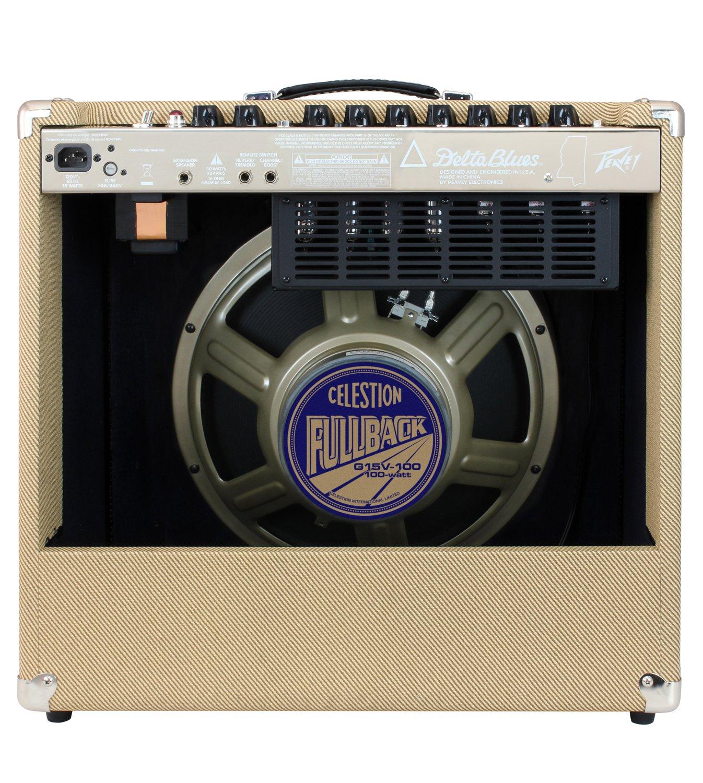 Peavey 03327810 Delta Blue 115 1 x 15 Inches 30-Watt Tube Combo Amplifier