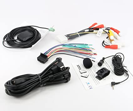 amazon com xtenzi connection cable set for pioneer avic x940bt avic rh amazon com