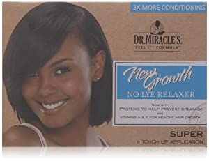 Dr. Miracle's New Growth Relaxer Kit, Super, 1count
