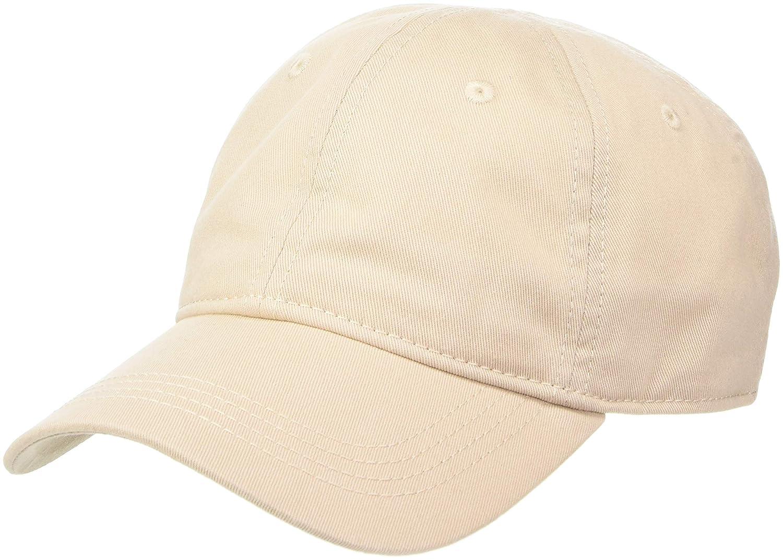 Lacoste Mens Classic Gabardine 3cm Croc Cap