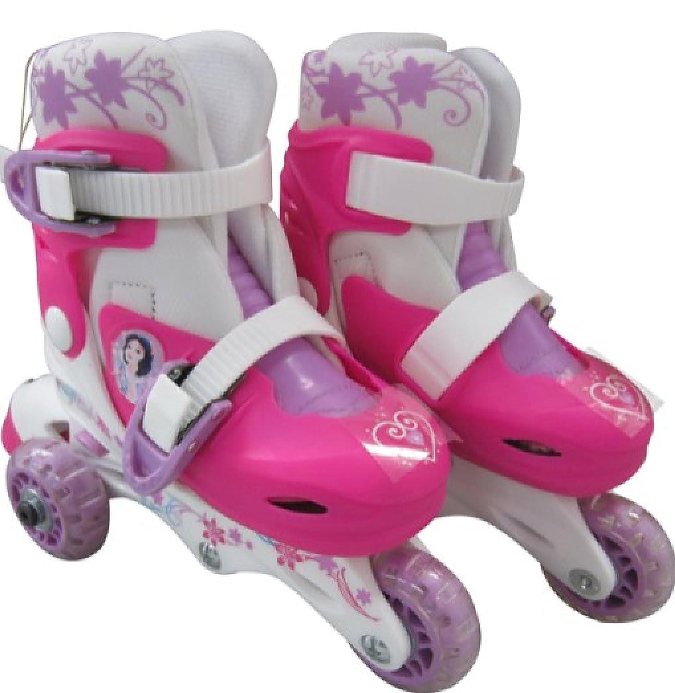 Princess Adjustable 2-in-1 3 Wheel Skates. [並行輸入品]